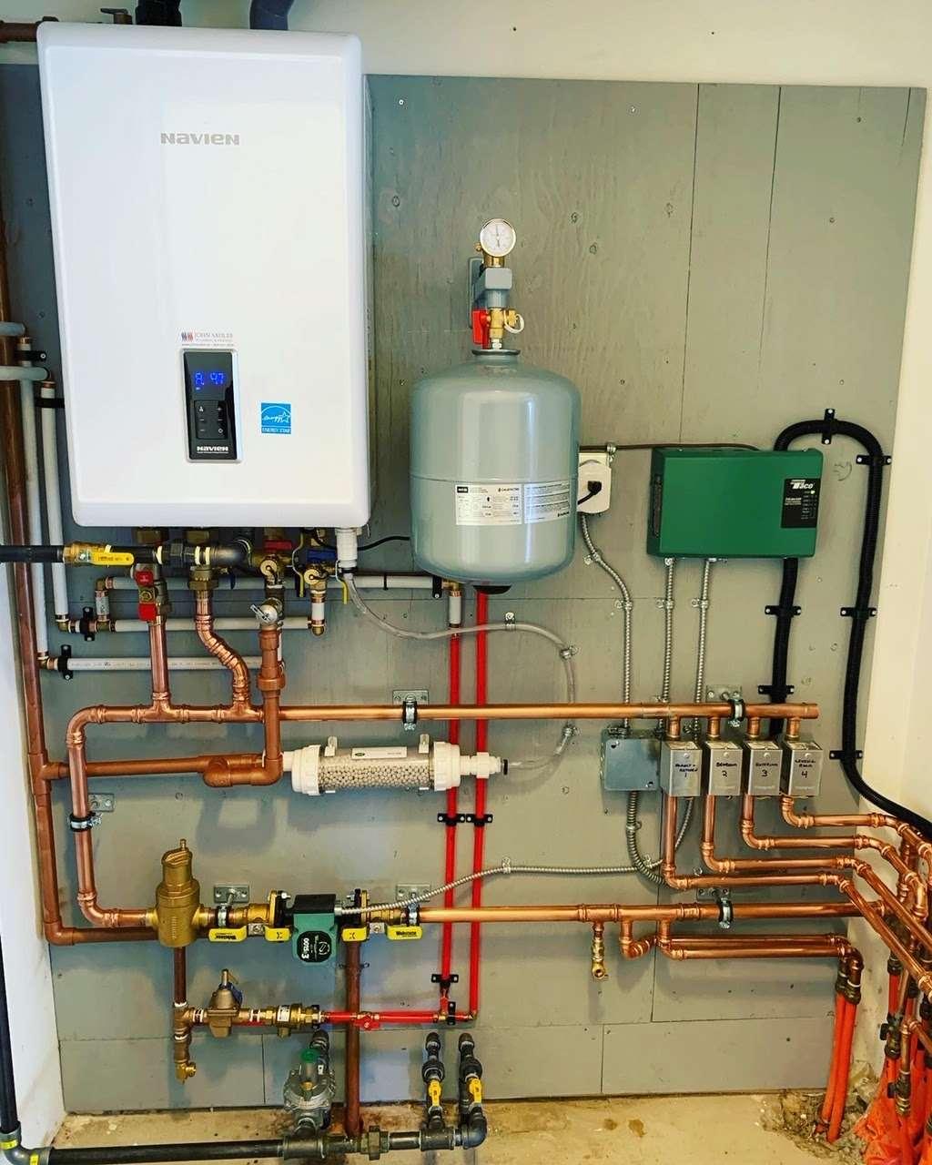 New Navien tankless water heater