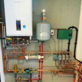 Navien boiler boiler installation in a home